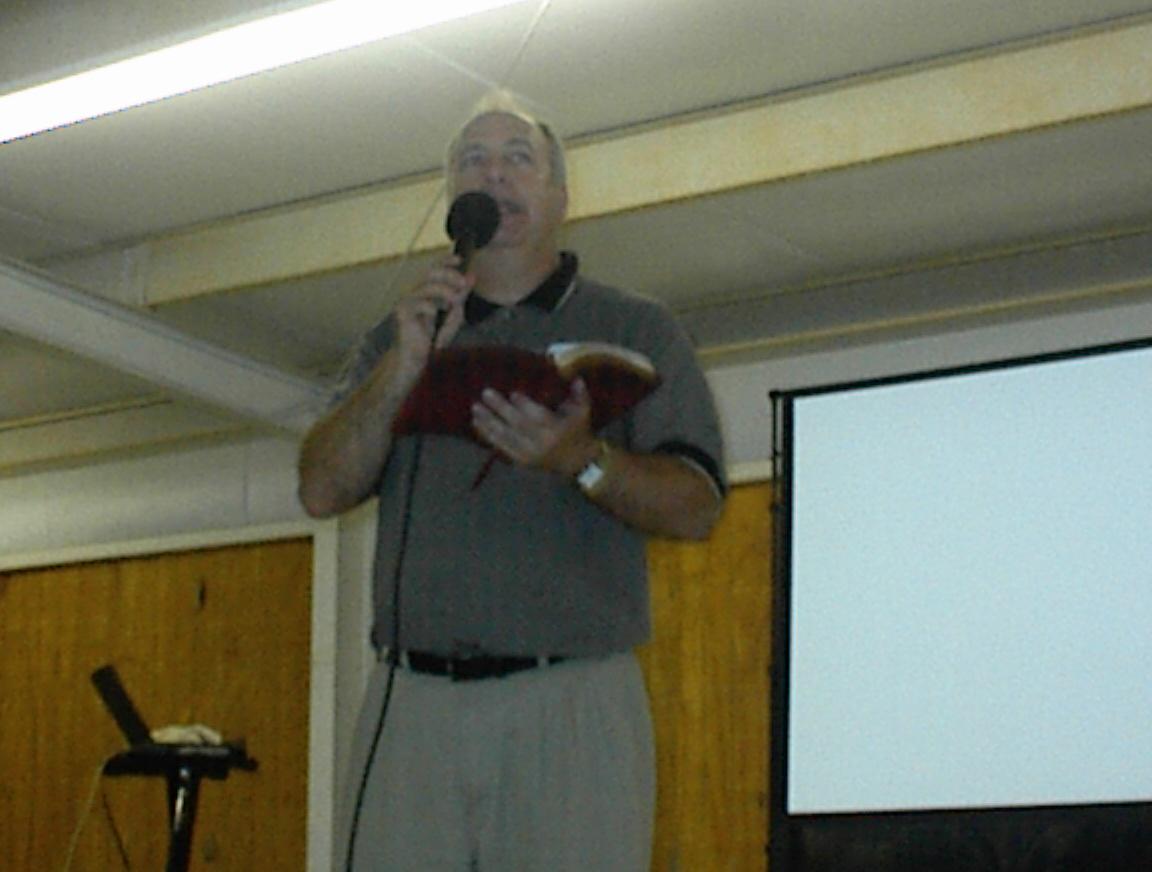 Preaching at Camp