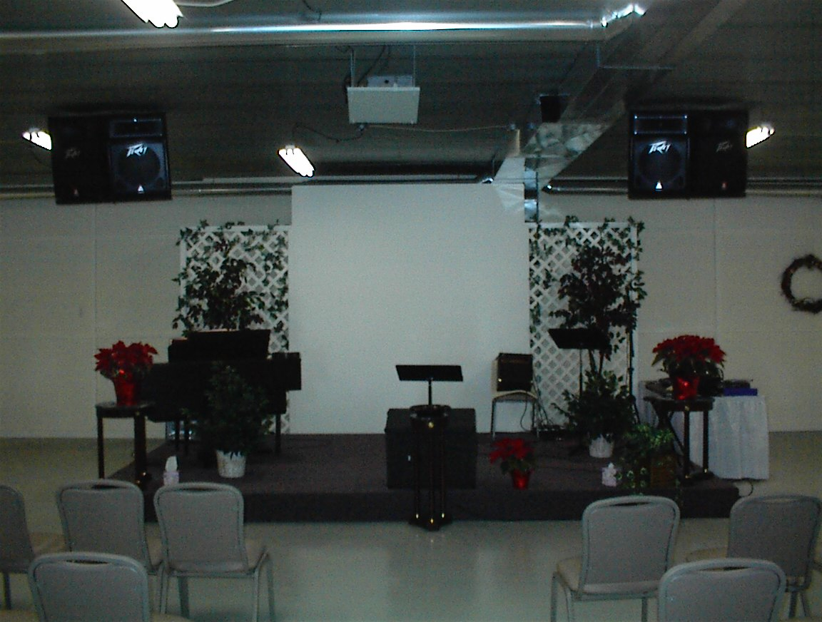 new worship area